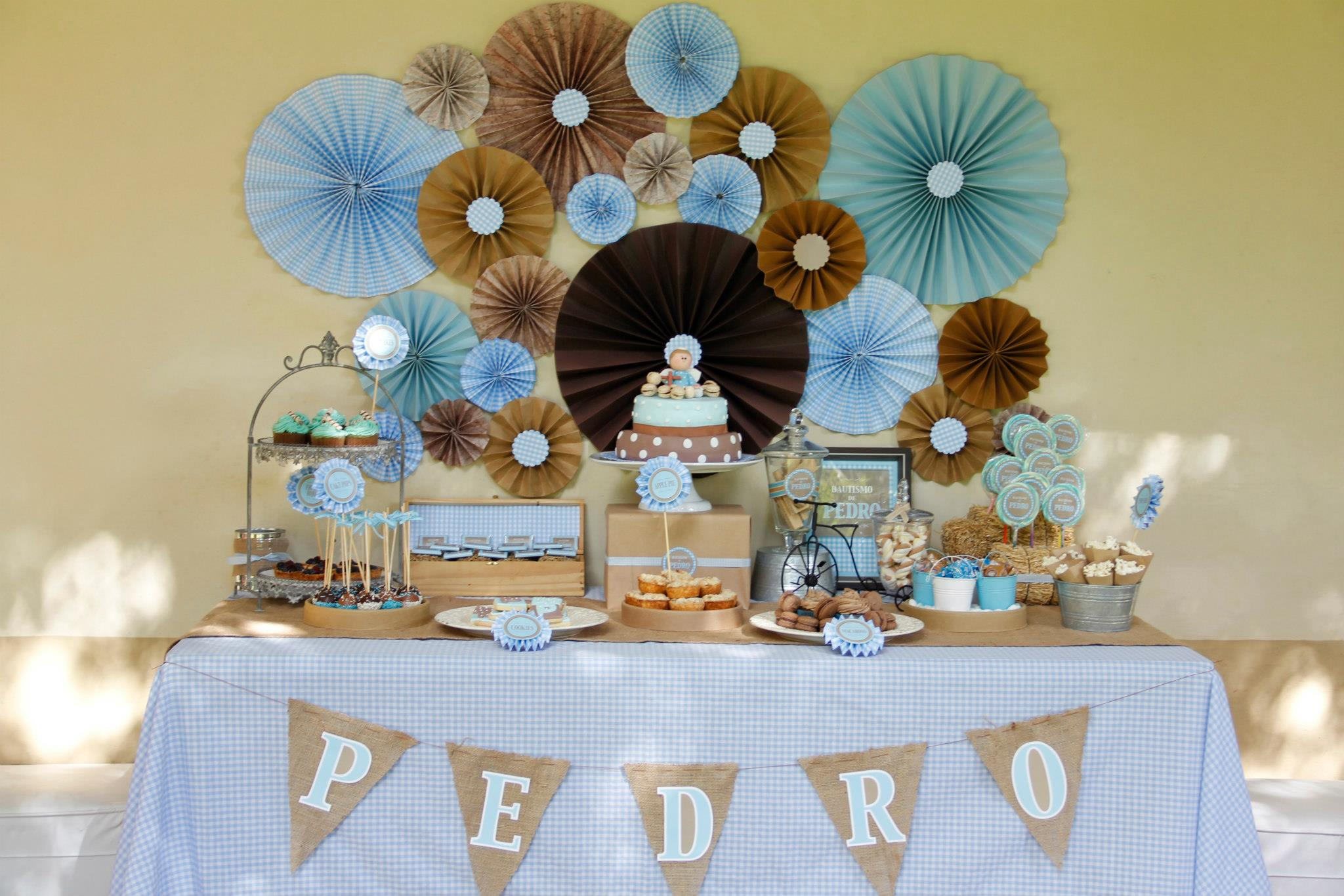 Cakes and co party planning styling bautismo de - Articulos para decoracion bautizo nino ...