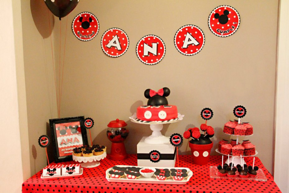 Cakes And Co Party Planning Styling Minnie Mickey Para El