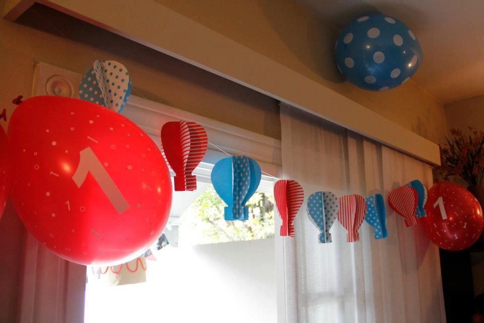 Cakes and co party planning styling globos - Globos aerostaticos infantiles ...