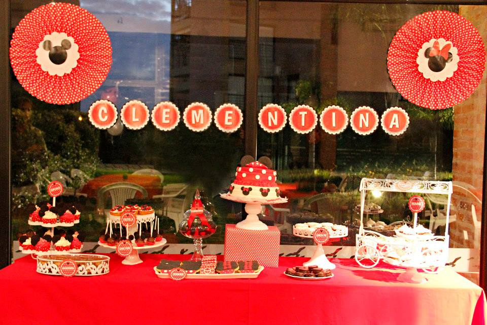Cakes And Co Party Planning Styling Minnie Mickey Cumple 1