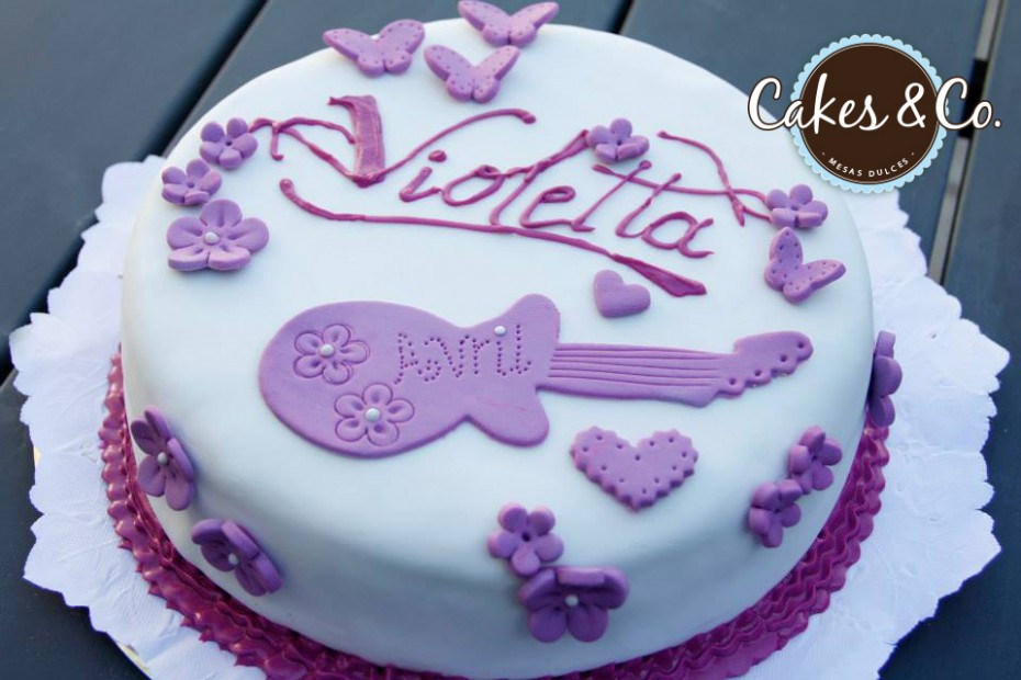 Torta Cake Design Violetta : Cakes and Co.   Party Planning & Styling   Torta Violetta