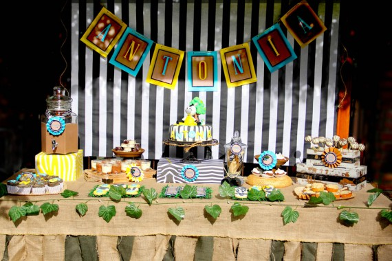 Cakes and co party planning styling - Decoracion en cebra ...
